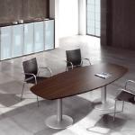 boardroom-wenge-wood-silver-finish